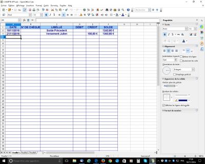 R solu formule avec si calculer un solde consulter le sujet forum openoffice libreoffice - Open office derniere version ...