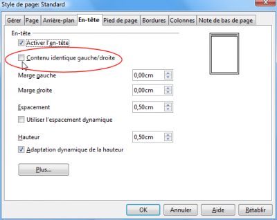 R solu num roter 1 page sur 2 droite consulter le - Comment numeroter les pages open office ...