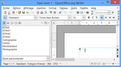 Aoo bien utiliser les mod les consulter le sujet - Numerotation des pages sur open office ...